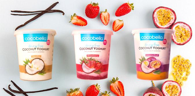 Cocobella new yoghurt flavours